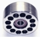 100mm Billet Aluminum Double Bearing Idler Pulley  - Product Image