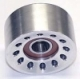 70mm Billet Aluminum Double Bearing Idler Pulley  - Product Image