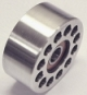 Double Bearing 76mm Billet Aluminum Idler Pulley  - Product Image